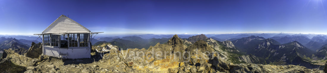 360 Degree view from the Three Fingers Lookout.