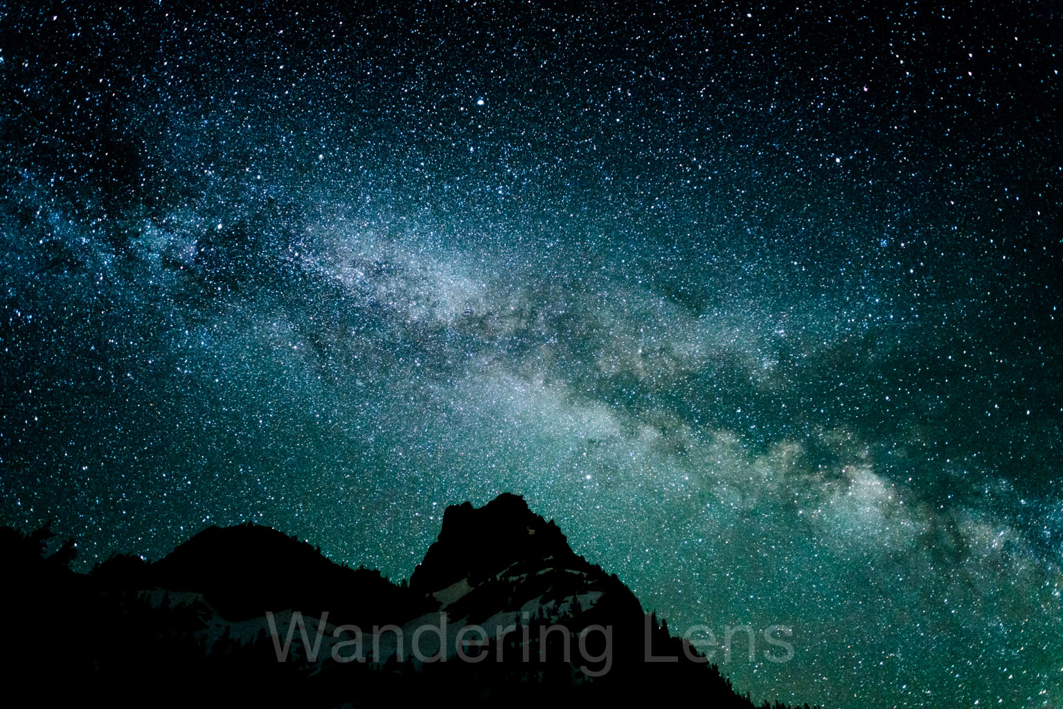 Cathedral Rock under the Milky Way