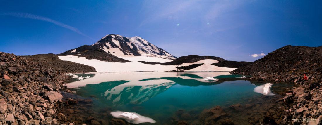 Adams Glacier Lake