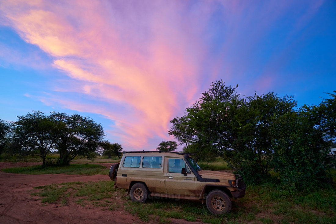 Our trusty 4X4